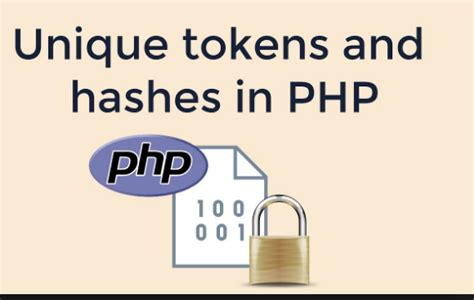 PHP Secure Token Generator Authentication tutorial