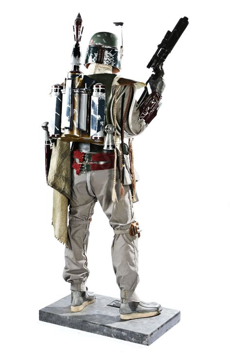 Star Wars Boba Fett Statue Taille Réelle Don post