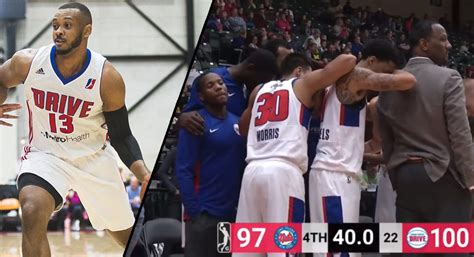 G-League Player Zeke Upshaw Taken To Hospital After