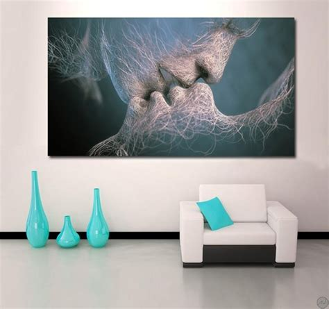 Tableau Design Invisible Kiss - ArtWall and Co