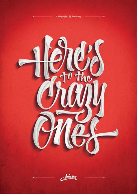Custom Lettering - Typography Poster Design by Joluvian