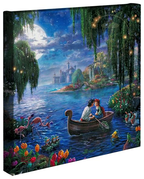 Little Mermaid II, The – 14″ x 14″ Gallery Wrapped Canvas