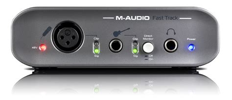 KVR: Fast Track by M-Audio - Audio Interface