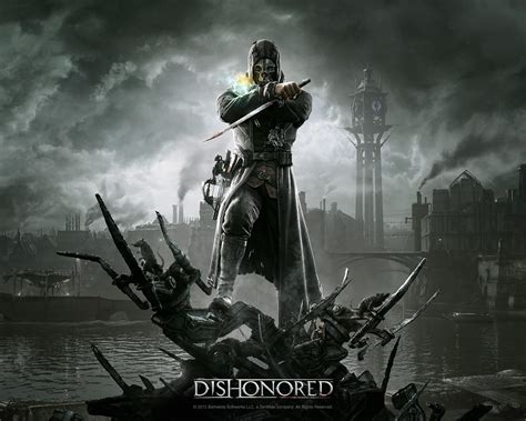 Two Scary Looking Dishonored Wallpapers released