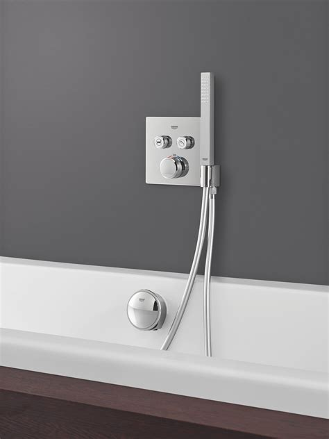 GROHTHERM SMARTCONTROL COMBI THERMOSTATIC SHOWER MIXER