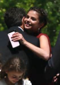 Selena Gomez at David Henrie and Maria Cahill's Wedding in