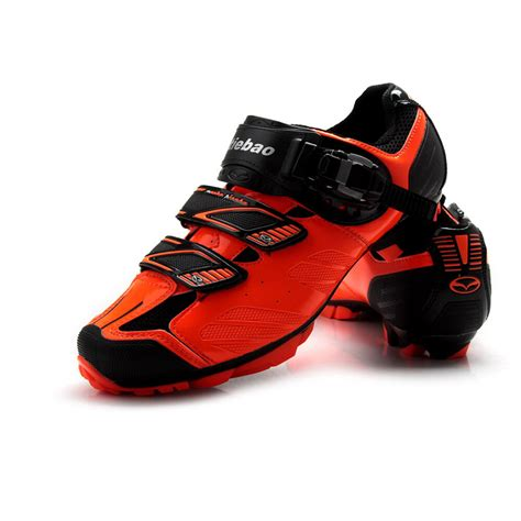 Tiebao MTB Cycling Shoes For Shimano SPD System Bike