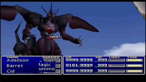 FF7 HD - How to get Ultima Weapon - YouTube