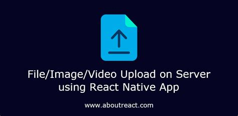 How to Upload File/Image to Server with Form Data in React