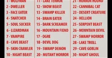 Mountain Monsters - What is your Monster Name? | Bigfoot