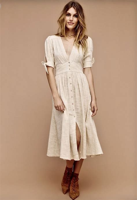 NEW Free People Endless Summer ivory tan Texture Gauze
