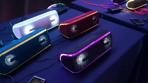 Sony SRS-XB41 and the 2018 family of Bluetooth speakers