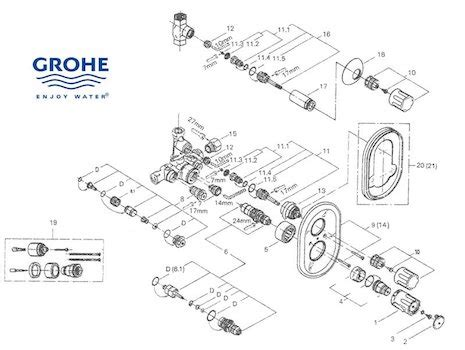 Grohe Shower Spares | Grohe Spare Parts | National Shower
