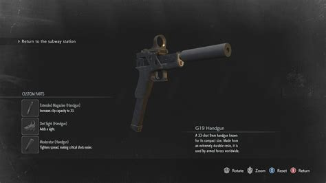 Resident Evil 3 remake: Where to find every weapon part