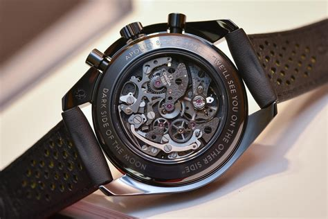 Review - Omega Speedmaster Dark Side of the Moon Apollo 8