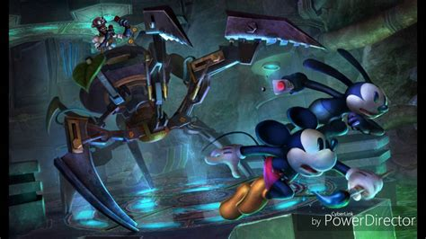 Epic Mickey 2 Music - Mad Doctor Final Battle - YouTube