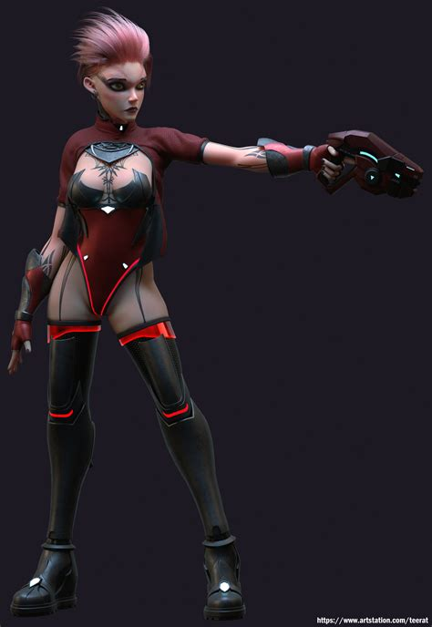 Art3mis by matricaria | Character Art | 3D | CGSociety