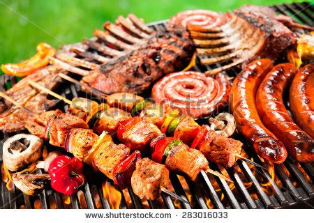 The meaning and symbolism of the word - «Barbecue»