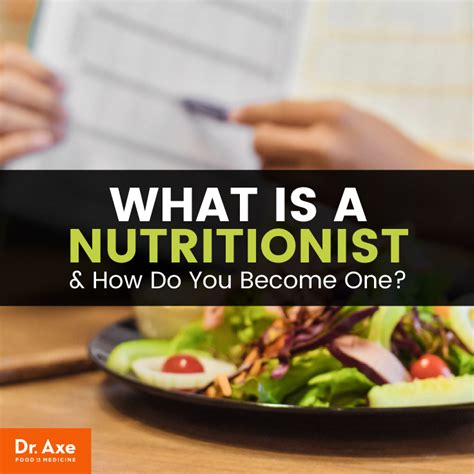 Nutritionist Belief Systems, Roles and Training - Dr