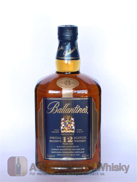 Ballantine's 12 year old Special Reserve Gold Seal Blended