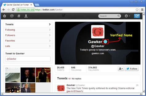 How to get verified name on Google+, Twitter, Facebook and