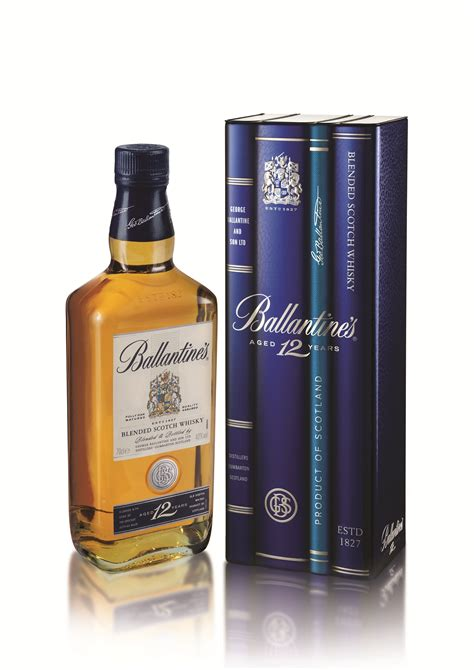 Bring your bookshelf to life with Ballantine's 12 year old