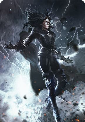Yennefer of Vengerberg (gwent card) - The Official Witcher