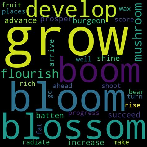 20 Synonyms for « thrive