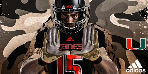 Miami Unveils Awesome Military Uniforms Complete With