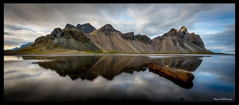 Vestrahorn, Stokksnes - Iceland   From a phototrip with my