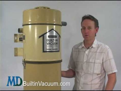 Introduction to your Kenmore Central Vacuum Unit - YouTube