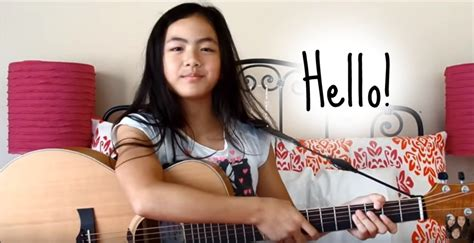 Hello ~ Adele ~ Fingerstyle Guitar Cover ~ Lanvy - YouTube