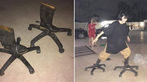 Office Chair Roller Skates | Know Your Meme