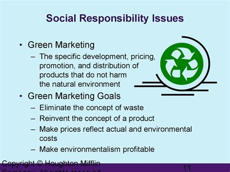 Social responsibility and ethics in marketing - online