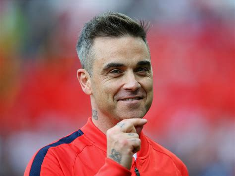 Robbie Williams got Botox after people started saying he