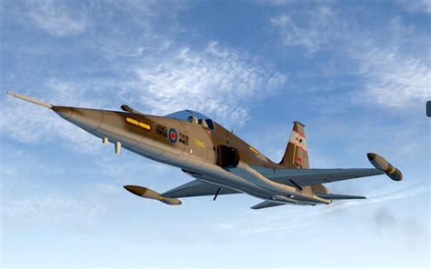 Canadair CF-5A/CF-116 Freedom Fighter for X-Plane 11