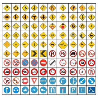 100 classes of Malaysia traffic signs