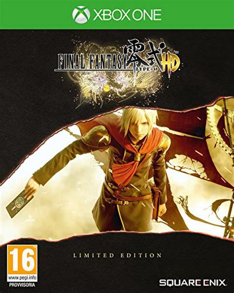 Final Fantasy Type-0 HD - Limited Edition Steelbook Xbox