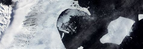 Spreading crack in Antarctica's ice shelf could cause