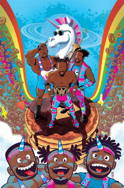 Boom! announces WWE: The New Day graphic novel