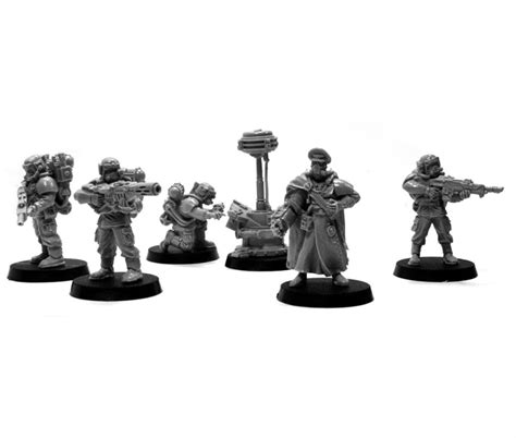 Cadian Hostile Environment Squad – OnTableTop – Home of